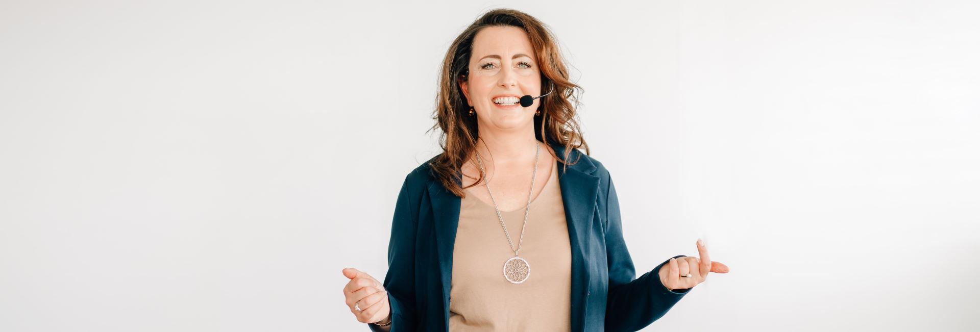 Melanie Ebert als Speaker